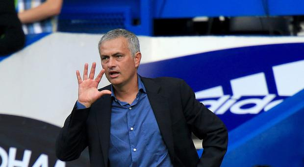 Chelsea manager Jose Mourinho had a lively exchange with journalists after their 2-0 defeat of Arsenal.