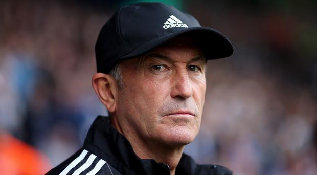 Tony Pulis' side earned derby victory at Villa Park