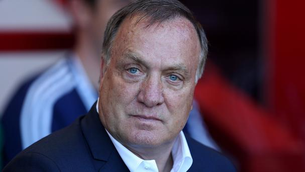 Dick Advocaat's side are bottom of the Premier League