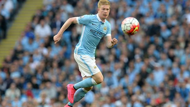 Kevin De Bruyne was impressive on his first start for Manchester City