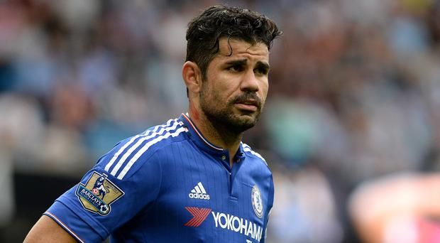 Chelsea striker Diego Costa has been charged with violent conduct