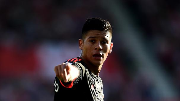 Marcos Rojo will miss Saturday's home game against Sunderland through injury