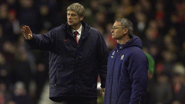 Much has changed since Arsene Wenger, left, and Claudio Ranieri, right, last met in the Premier League