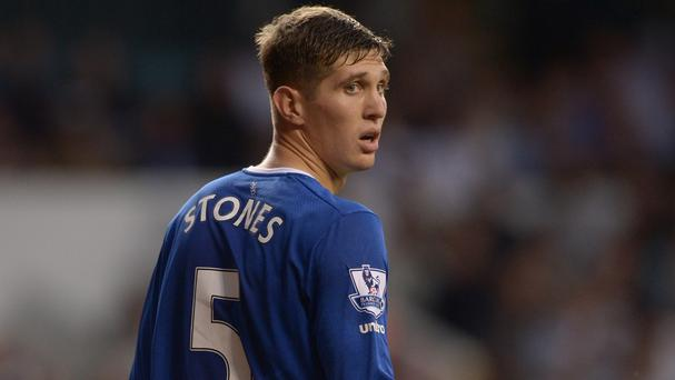 Everton defender John Stones could return from injury to face West Brom.