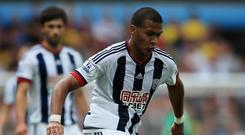 Salomon Rondon has one goal in his first six games for West Brom