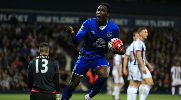 Romelu Lukaku scored twice as Everton fought back to beat West Brom