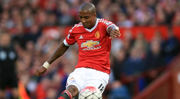 Ashley Young, pictured, excused manager Louis van Gaal for his Neymar comparison