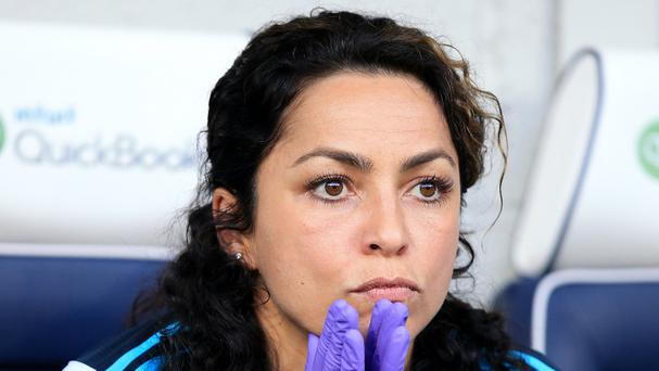 Eva Carneiro left Chelsea in September