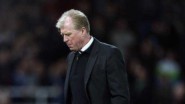 Chris Waddle is predicting a tough season for Newcastle head coach Steve McClaren, pictured, and Sunderland counterpart Dick Advocaat