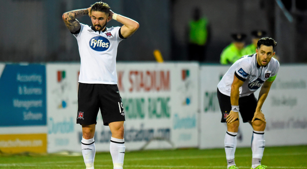 West Ham recruit Sean Maguire is aiming to help Dundalk into the FAI Cup final