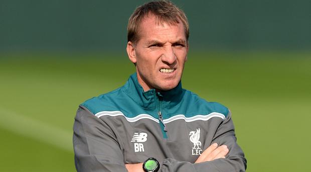 Brendan Rodgers agrees that Liverpool should be considered favourites for the Merseyside derby
