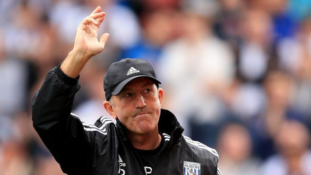 West Brom boss Tony Pulis, pictured, believe Alan Pardew deserves more credit for his role at Crystal Palace