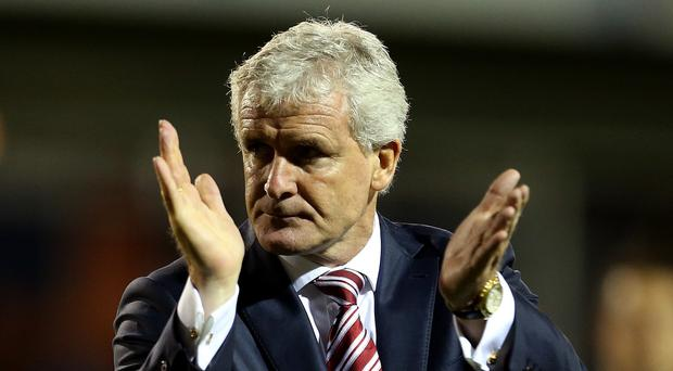 Stoke City manager Mark Hughes has enjoyed his last two trips to Aston Villa