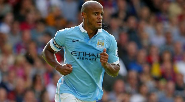 Manchester City must continue without injured captain Vincent Kompany