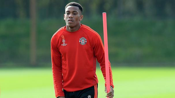 Anthony Martial, pictured, has made a glittering start to his Manchester United career