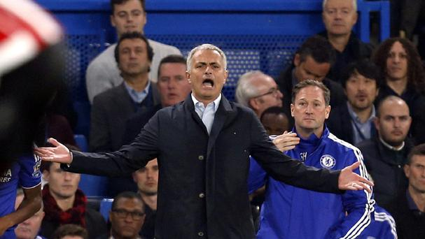 Chelsea manager Jose Mourinho saw his side crash to a fourth defeat of the season against Southampton