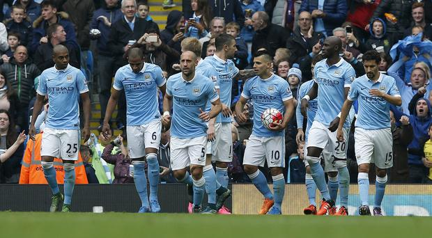 Sergio Aguero will be keeping the match ball after scoring five for Manchester City