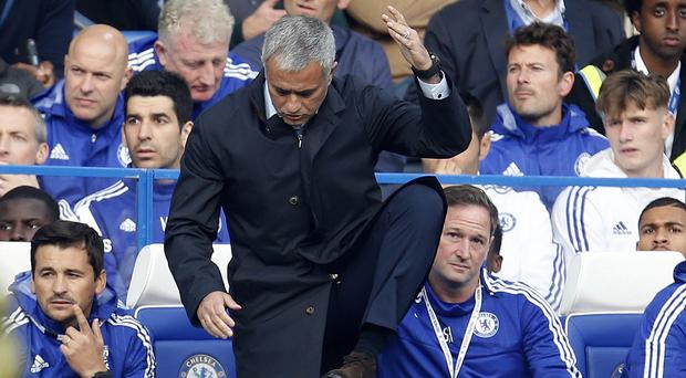 Jose Mourinho was not a happy man on Saturday
