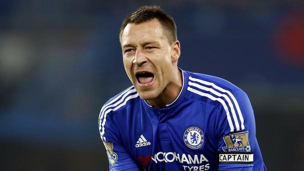 John Terry, pictured, has called on Chelsea's players to unite behind under-pressure manager Jose Mourinho