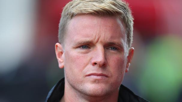 Eddie Howe was not happy with what he saw on Saturday