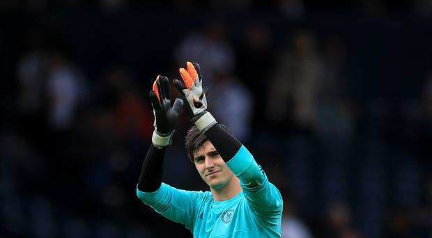 Thibaut Courtois' injury has been one of a number of problems faced by Chelsea this season
