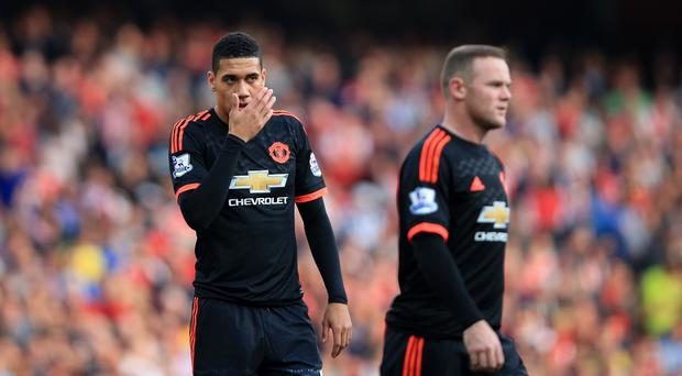 Manchester United crashed to a 3-0 league defeat aganist Arsenal at the Emirates Stadium