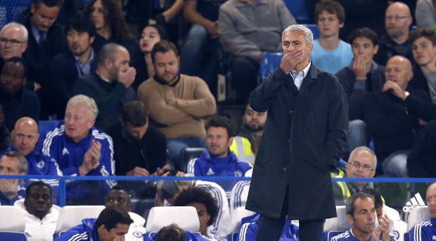 Chelsea manager Jose Mourinho says he would only call time on his role if the players lost faith in him