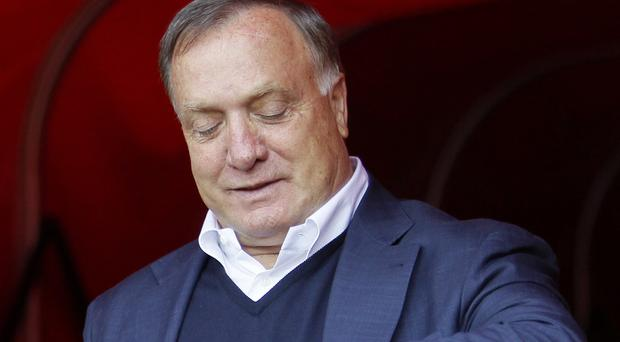 Former Sunderland head coach Dick Advocaat has admitted his squad was simply not good enough