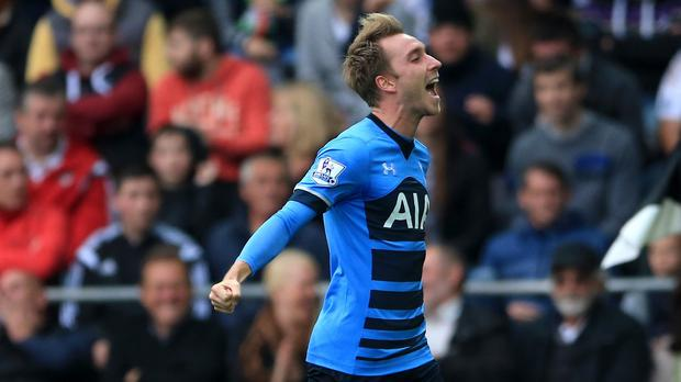 Christian Eriksen has been studying free-kick experts
