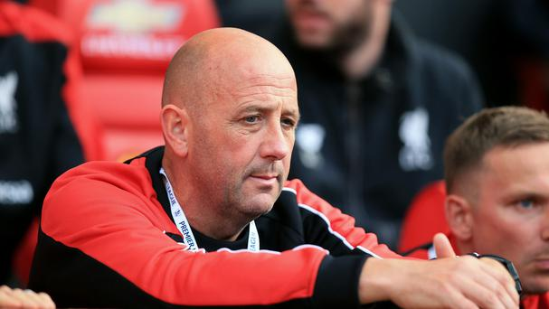 Gary McAllister was appointed as a first-team coach at Liverpool in the summer.