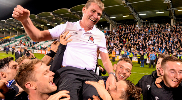 It is Stephen Kenny's philosophy that his team go out to win every game Photo: Seb Daly