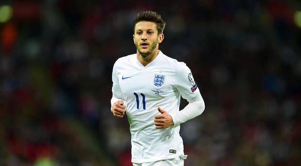 England midfielder Adam Lallana, pictured, cannot wait to work under Jurgen Klopp at Liverpool