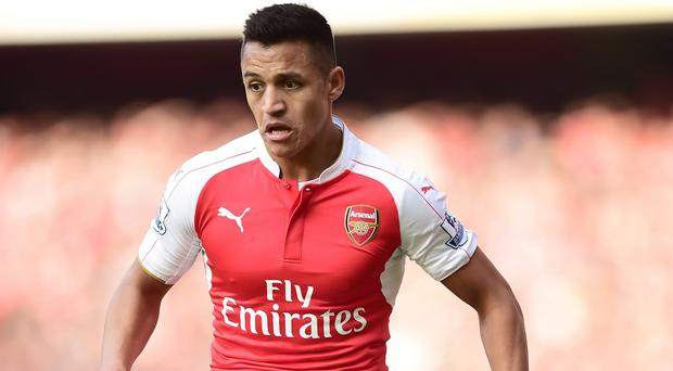 Arsenal forward Alexis Sanchez has been away with Chile during the international break