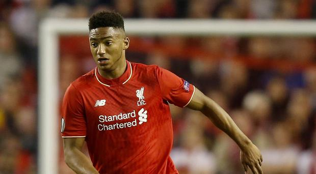 Joe Gomez suffered a knee injury while playing for England Under-21s in midweek