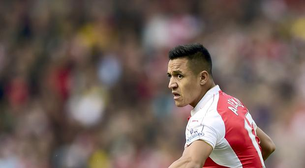Arsenal forward Alexis Sanchez was in action for Chile twice over the international break