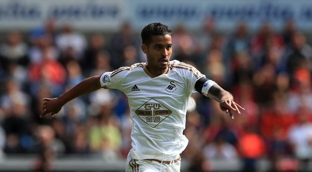 Defender Kyle Naughton could feature against Stoke on Monday
