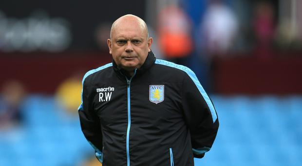 Aston Villa coach Ray Wilkins, pictured, has defended manager Tim Sherwood.
