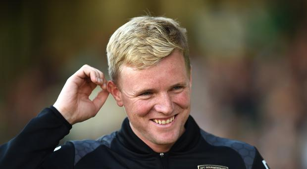 Eddie Howe has signed a new deal at Bournemouth