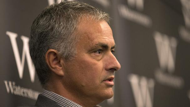 Jose Mourinho held a media conference at Waterstones Piccadilly to promote his book MOURINHO