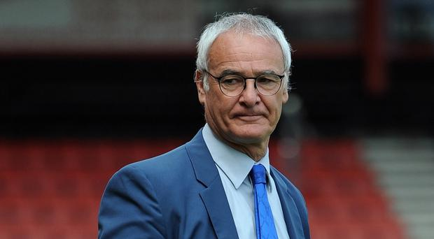 Leicester manager Claudio Ranieri has only lost once as Foxes boss this season