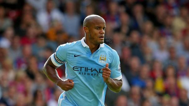 Manchester City captain Vincent Kompany played for Belgium in midweek to the frustration of club manager Manuel Pellegrini