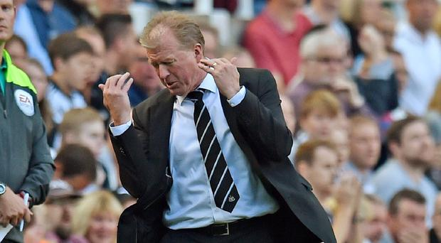 Newcastle head coach Steve McClaren is still looking for a first Barclays Premier League win of the season