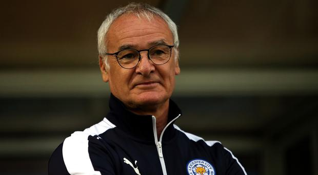 Claudio Ranieri, pictured, was delighted with Jamie Vardy
