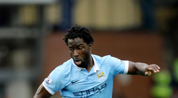 Wilfried Bony is back in the goals for Manchester City after overcoming malaria in the summer
