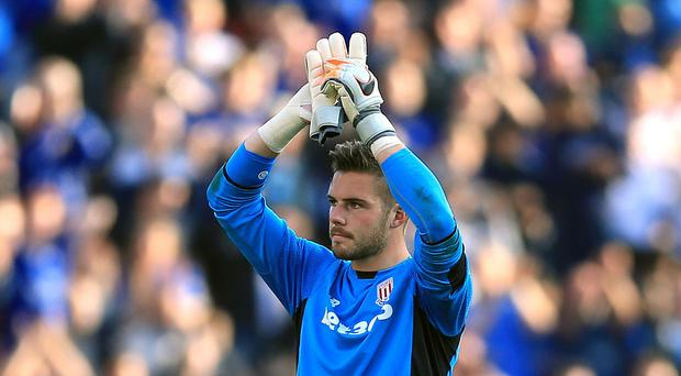Jack Butland is contracted to Stoke until the summer of 2019