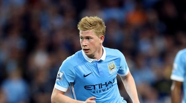Kevin De Bruyne is determined to deliver for Manchester City