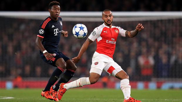 Theo Walcott says Arsenal are full of confidence