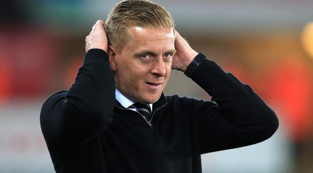 Swansea manager Garry Monk was linked to the Aston Villa job on Tuesday
