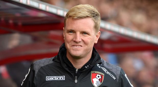 Bournemouth manager Eddie Howe did not enjoy watching his team's 5-1 loss to Manchester City