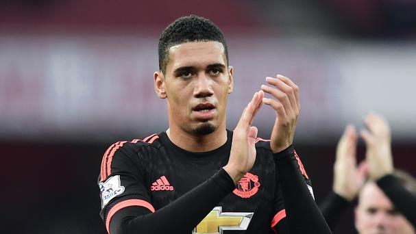 Chris Smalling has been tipped to captain Manchester United in the future